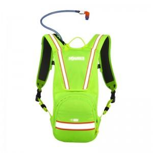 Source Blaze iVis Hydration Pack Neon Lime - 3L