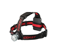 Coast HL45 - DUAL COLOR (White & Red) - WIDE ANGLE FLOOD BEAM - 400 LUMENS