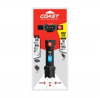 Coast Polysteel 400 - Water Proof - Crush Proof - With bonus Item - FL14 Head Torch Included