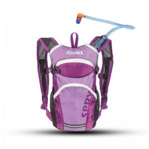 Source Spry Hydration Pack For Kids - 1.5L - Pink & Purple