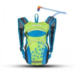 Source Spry Hydration Pack For Kids - 1.5L - Blue & Green